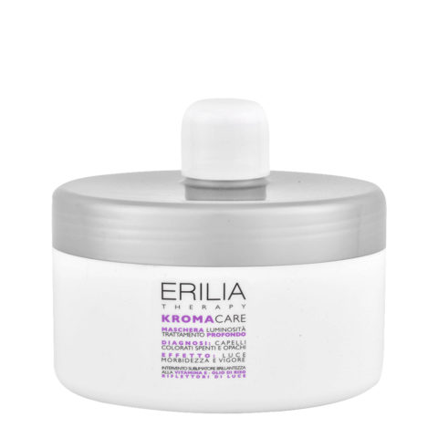 Erilia Kroma Care Maschera Luminosità Trattamento Profondo 500ml - lightening mask for coloured hair