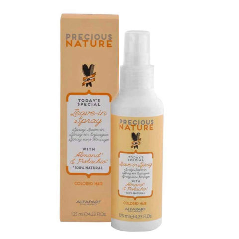 Alfaparf Precious nature Leave-in spray with Almond & pistachio for Colored hair 125ml - conditioner without rinsing