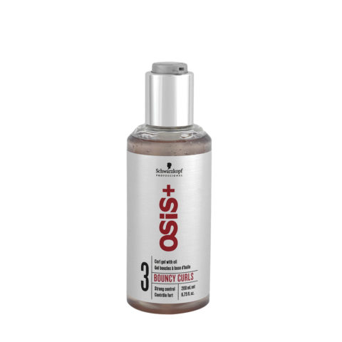 Schwarzkopf Osis Style Bouncy Curls 200ml - gel for medium-fine curly hair