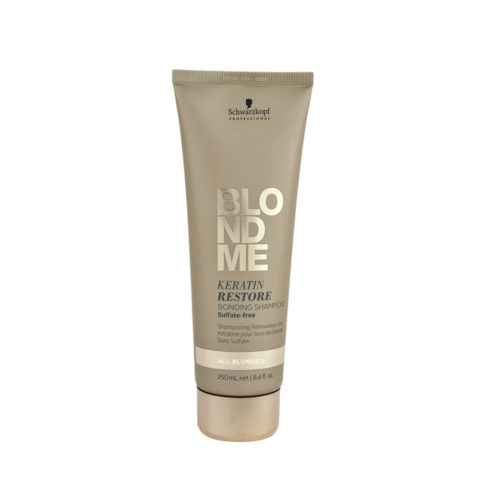 Schwarzkopf Blond Me Keratin Restore Bonding Shampoo Sulfate free 250ml - Reconstruction shampoo