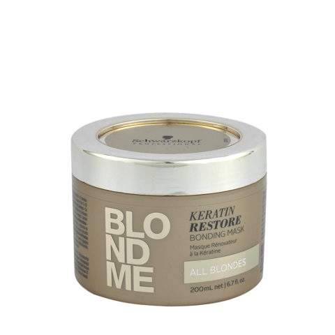 Schwarzkopf Blond Me Keratin Restore Bonding Mask 200ml - reconstruction mask