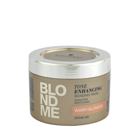Schwarzkopf Blond Me Tone Enhancing Bonding Mask Warm Blondes 200ml - mask for hot blondes