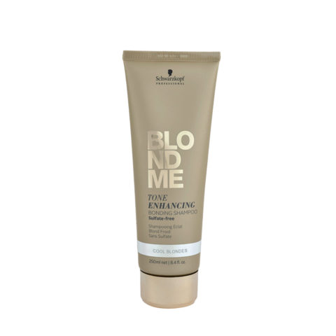 Schwarzkopf Blond Me Tone Enhancing Bonding Shampoo Sulfate free 250ml - neutralizing shampoo with yellow tones