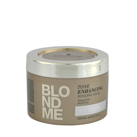 Schwarzkopf Blond Me Tone Enhancing Bonding Mask 200ml - neutralizing mask yellow tones