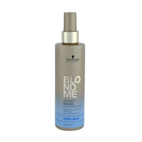 Schwarzkopf Blond Me Instant Blush Steel blue 250ml