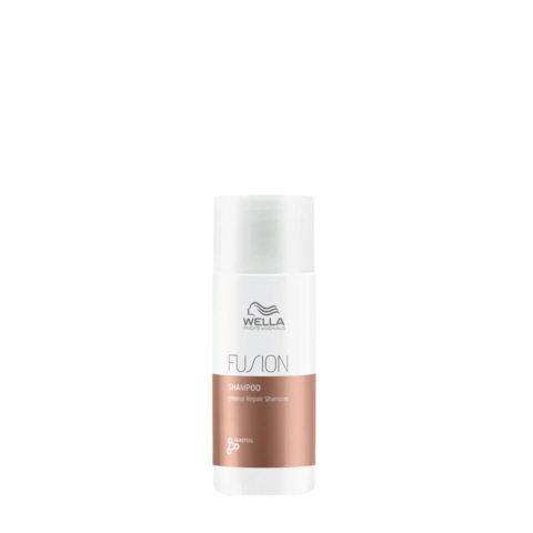 Wella Fusion Shampoo 50ml - intense repair shampoo
