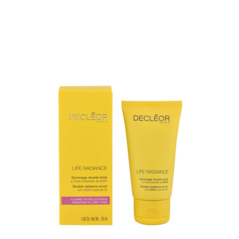 Decléor Life Radiance Gommage Double éclat 50ml - double radiance scrub
