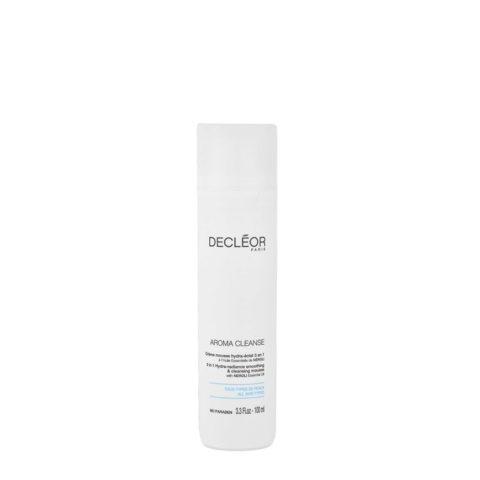 Decléor Aroma Cleanse Crème mousse Hydra-éclat 3en1, 100ml - cleansing mousse