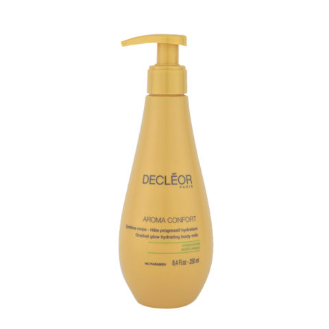 Decléor Aroma Confort Hâle Progressif Hydratant 250ml - gradual glow hydrating body milk