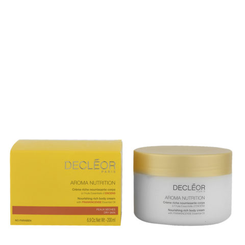 Decléor Aroma Nutrition Crème riche nourissante corps 200ml - nourishing rich body cream