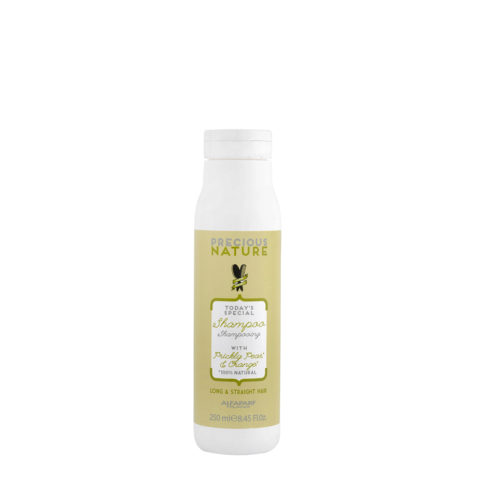 Alfaparf Precious Nature Shampoo With Prickly Pear & Orange For Long/Straight Hair 250ml