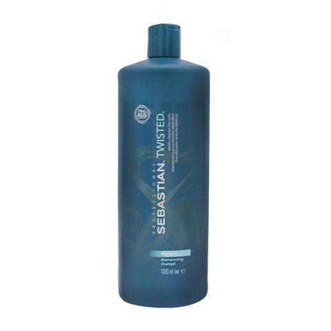 Sebastian Twisted Shampoo 1000ml - elastic cleanser for curls
