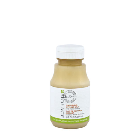 Biolage RAW Smoothing Styling Milk 200ml