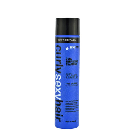 Curly Sexy Hair Sulfate-Free Curl Enhancing Shampoo 300ml