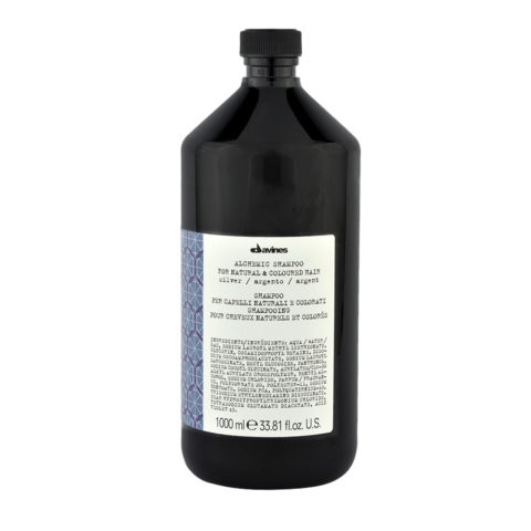 Davines Alchemic Conditioner Silver 1000ml - Coloured conditioning cream