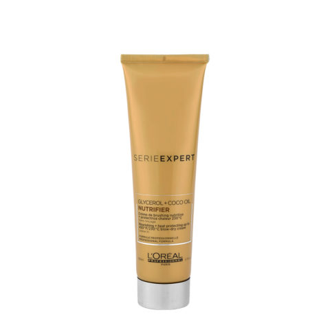L'Oreal Nutrifier Creme Brush 150ml - heat protection cream