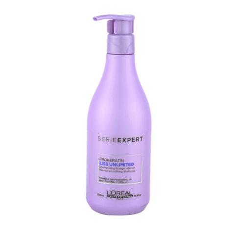 L'Oreal ProKeratin Liss Unlimited Shampoo 500ml - antifrizz