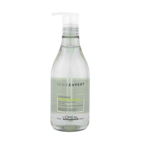 L'Oreal Pure Resource Shampoo 500ml - purifying shampoo