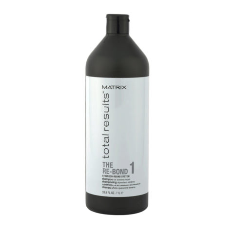 Matrix Total results The Re-bond 1 Shampoo 1000ml - extreme repair after lightening