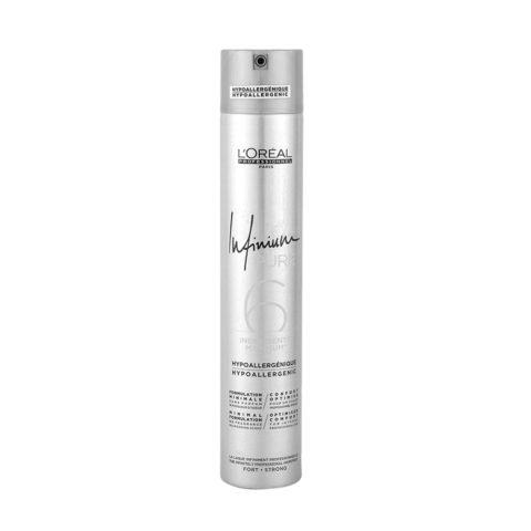 L'Oreal Hairspray Infinium Pure Strong 500ml - strong hairspray
