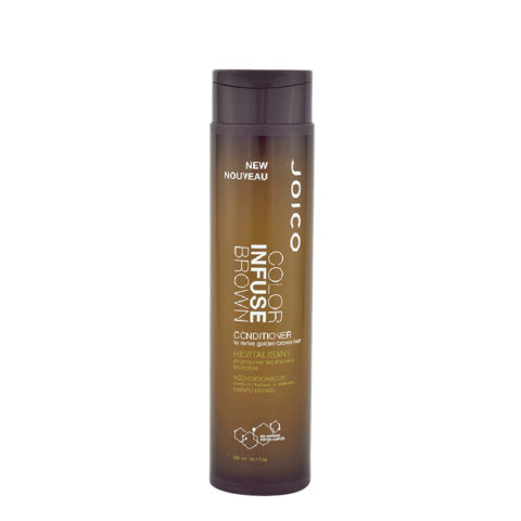 Joico Color Infuse Brown Conditioner 300ml - to revive golden-brown hair