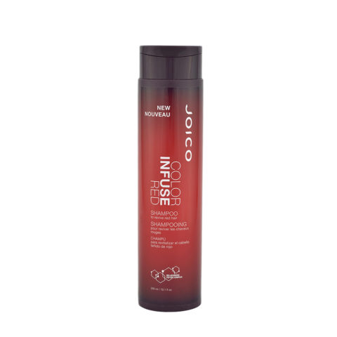 Joico Color Infuse Red Shampoo 300ml - to revive red hair