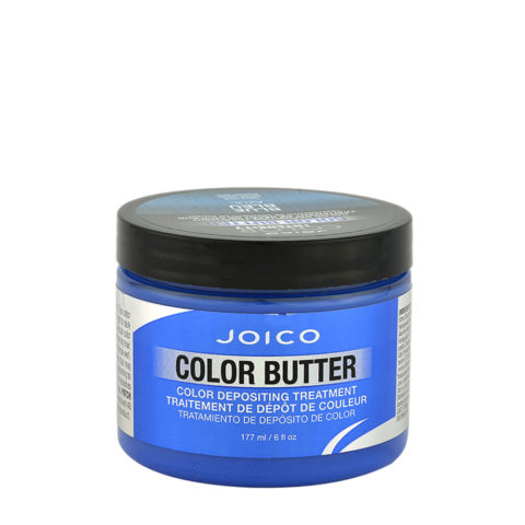Joico Color Butter Blue 177ml - temporary green colour mask