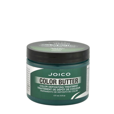 Joico Color Butter Green 177ml - temporary green colour mask