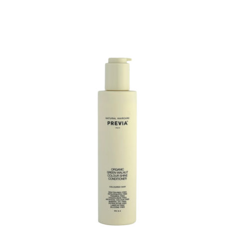 Previa Keeping Organic Green walnut colour shine Conditioner 200ml - coloured hair