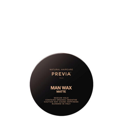 Previa Man Wax Matte 100ml - strong hold