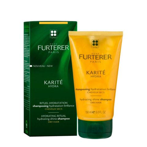 René Furterer Karité Hydrating ritual Shine Shampoo 150ml - dry hair