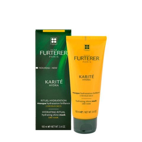 René Furterer Karité Masque Hydratation Brillance 100ml - Hydrating shine mask