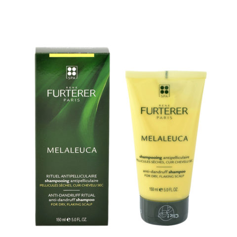 René Furterer Melaleuca Antidandruff Shampoo 150ml - For Dry Flaking Scalp