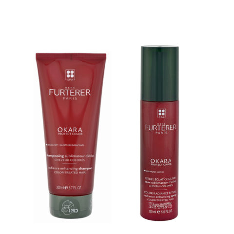 René Furterer Okara Kit Coloured hair Complete Ritual