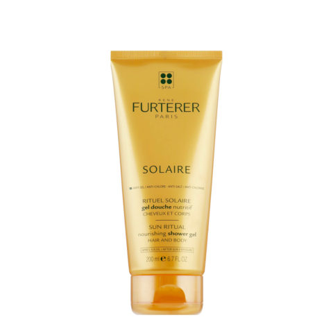 René Furterer Solaire Nourishing Shower Gel Hair and Body 200ml