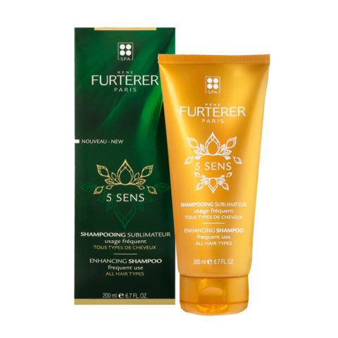 René Furterer 5 Sens Enhancing Shampoo 200ml - frequent use all hair types