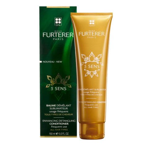 René Furterer 5 Sens Enhancing Detangling Conditioner 150ml - frequent use all hair types