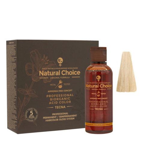 9.12 Very light blonde beige Tecna NCC Biorganic acid color 3x130ml