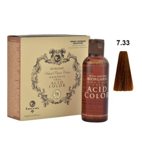 7.33 Deep golden blonde Tecna NCC Biorganic acid color 3x130ml