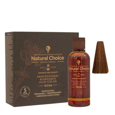 6.35 Dark blond natural wood Tecna NCC Biorganic acid color 3x130ml