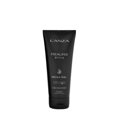 L' Anza Healing Style Mega Gel 200ml - strong hold gel