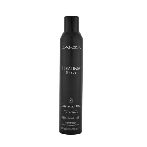 L' Anza Healing Style Dramatic F/X 350ml - strong hold hairspray