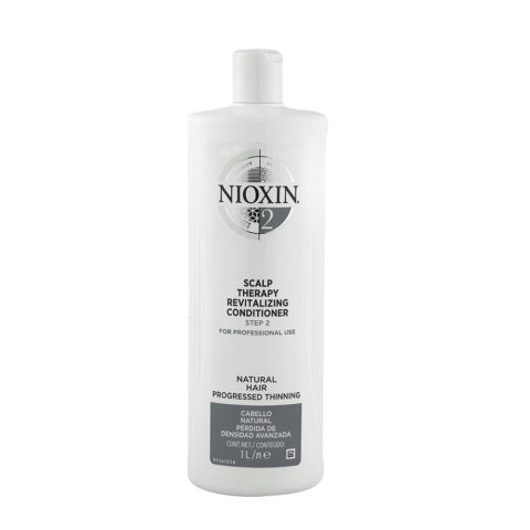 Nioxin System2 Scalp therapy Revitalizing conditioner 1000ml - antihairloss Conditioner