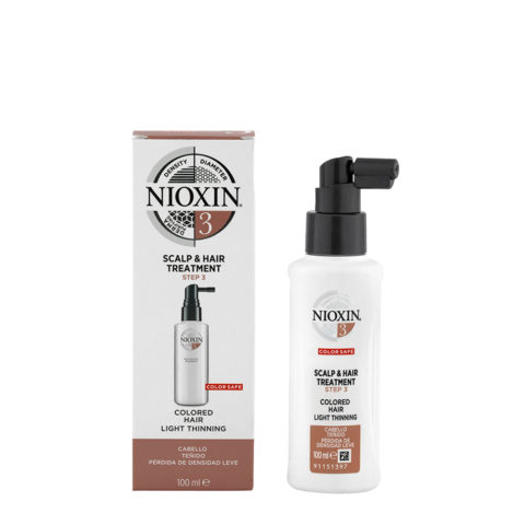 Nioxin System 3 Scalp & hair Treatment 100ml - Antihairloss Spray