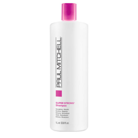 Paul Mitchell Super strong shampoo 1000 ml - strenghtens and rebuilds