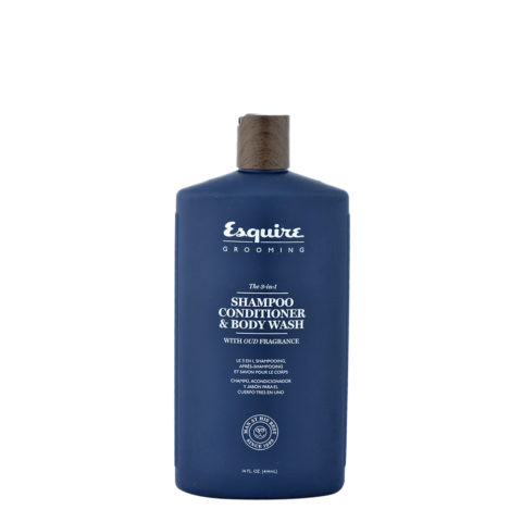 Esquire The 3-in-1 Shampoo Conditioner & Body Wash 414ml