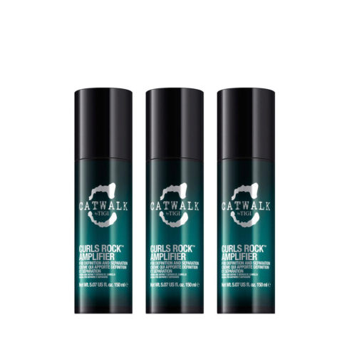 Tigi Catwalk Curlesque Curls Rock Amplifier 150ml 3 PCS