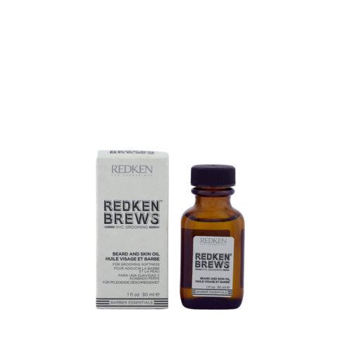 Redken Brews Man Beard and skin oil 30ml - moisturizer