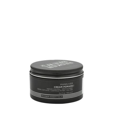 Redken Brews Man Maneuver Cream pomade 100ml - medium control-smooth finish