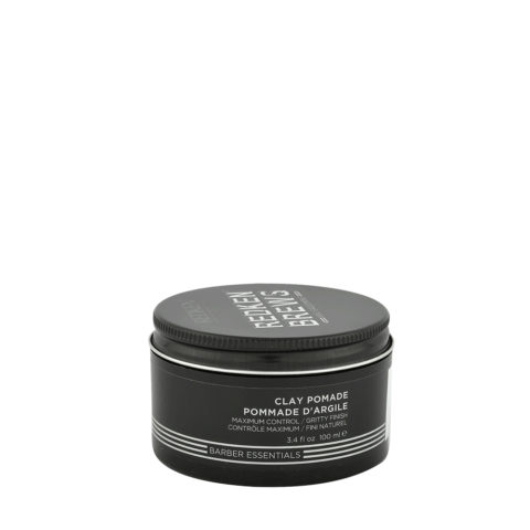 Redken Brews Man Clay pomade 100ml - maximum control-gritty finish